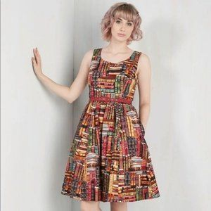 ModCloth Archive Got the Power Books Library Dress